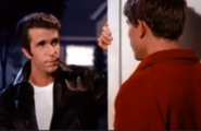 Happy Days episode 2x14 - Fonzie saves the day