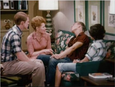 Happy Days episode 2x20 - Johnny Fish talks with the family