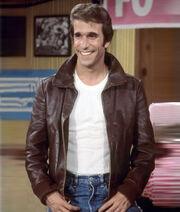 Fonzie-Happy-Day-Brown-Leather-Jacket-Ch