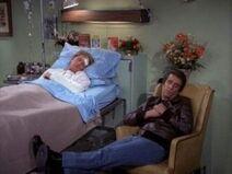 Happy Days 5x18 - Richie Almost Dies - Fonzie by his bedside