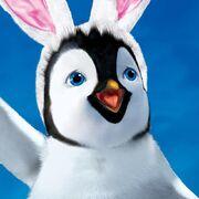 Erik with bunny ears
