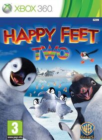 Happy Feet Two the video game poster