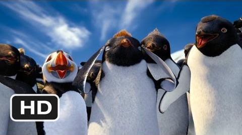 Happy Feet 2 in 3D 4 Movie CLIP - Think Like Sven (2011) HD
