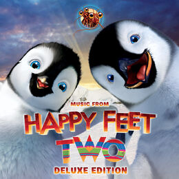 Happy Feet Two Deluxe Edition Cover