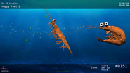 Will swimming and Bill swim back in animation reel