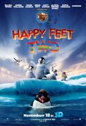 Happy feet 2 3d poster