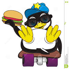 Penguin burger