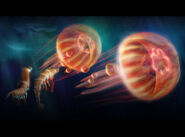 Jellyfishes in Happy Feet Two concept