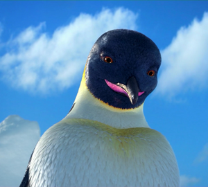 Adult Gloria's close up in Happy Feet