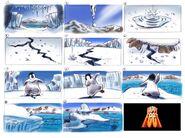 Bob Egusa's Happy Feet teaser storyboard