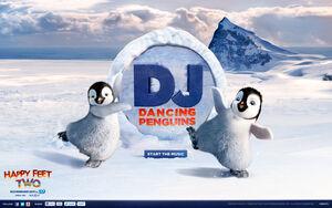 DJ Dancing Penguins Menu