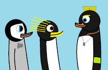 A new penguin in the group