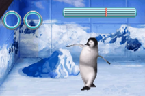 Happy Feet GBA Game Mumble Dancing Zoo