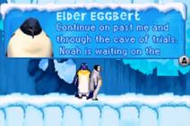 Elder Eggbert Happy Feet GBA