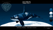 Happy Feet 2 Reel - Turn Table Killer Whale