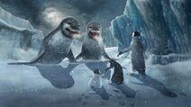 HF2 Storybook - Leopard seal confrontation