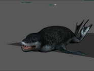 Leopard Seal animation test (Happy Feet 2 Game)