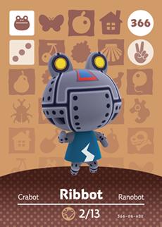 Ribbot Card