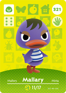 Mallary Card