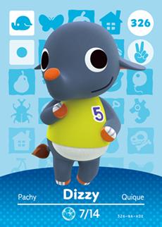 Dizzy Card