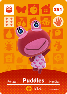 Puddles Card