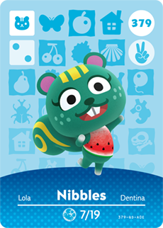 Nibbles Card