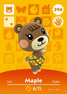 Maple Card