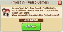 Invest VideoGames