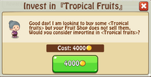 Invest TropicalFruits