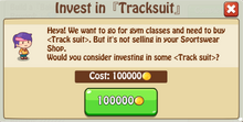 Invest Tracksuit