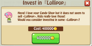 Invest Lollipop
