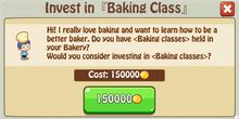 Invest BakingClass