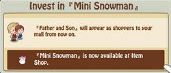 Mini Snowman 2