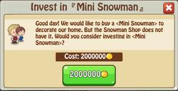 Mini Snowman 1