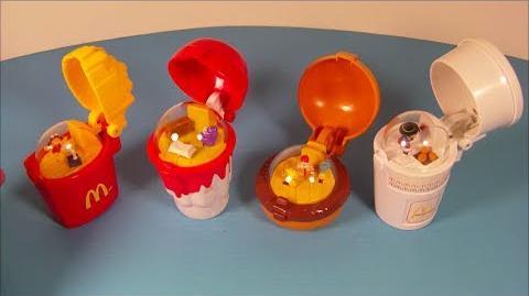 Video 1996 Flip Up S Set Of 4 Mcdonald S Happy Meal Kid S Toy S