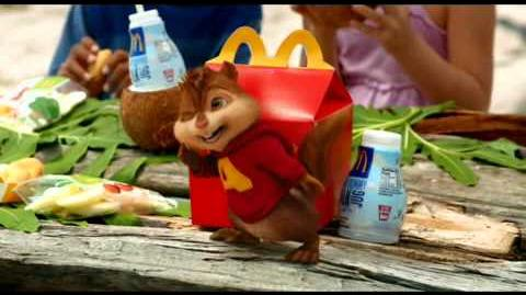 New Mcdonald's Happy Meal Alvin & The Chipmunks Chipwrecked TV Ad