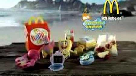 Mc Donalds - Spongebob Tv-Spot 1