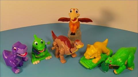The Land Before Time Collection (Burger King, 1997)