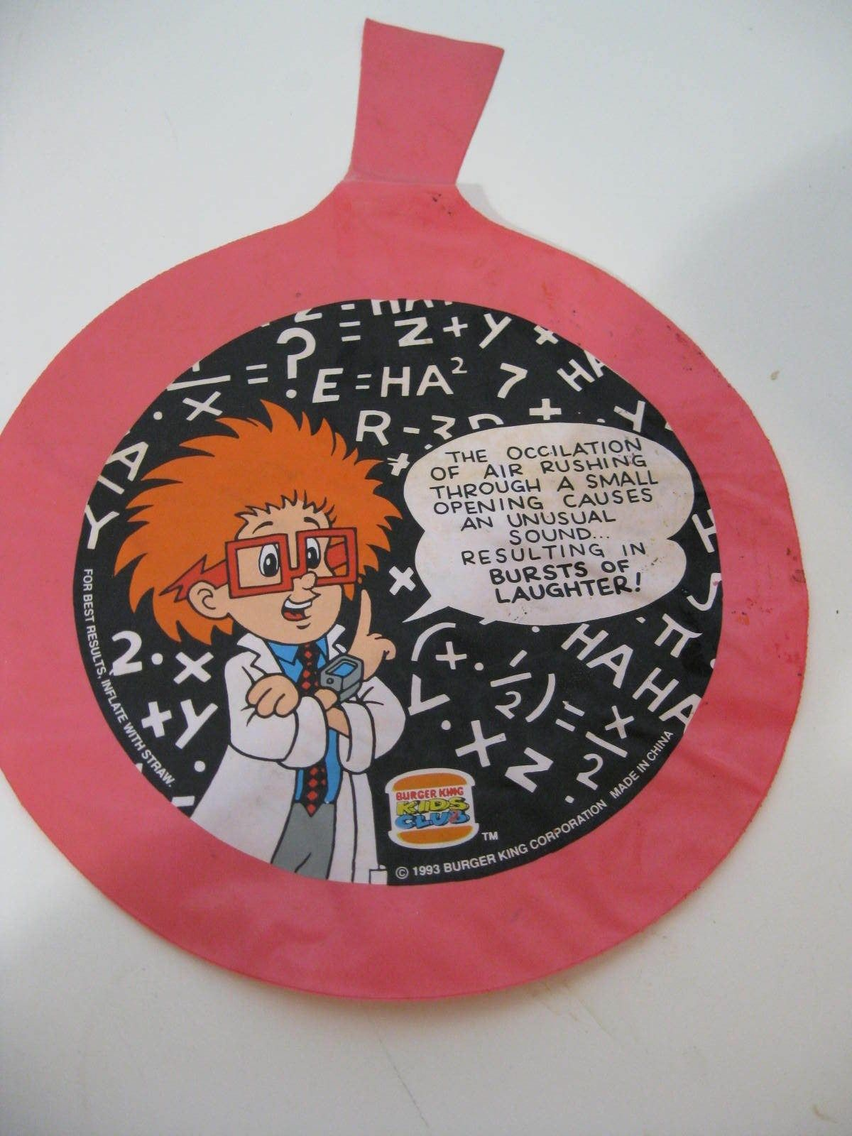 Burger King Kids Club Pranksters Burger King 1994 Kids Meal Wiki
