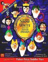 Snow White and the Seven Dwarfs (McDonald's, 2001)