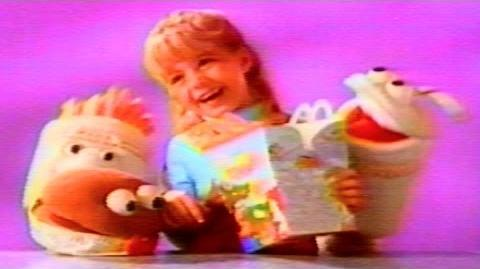 1991 - Commercial - McDonald's Good Morning Happy Meal! - As low as $2