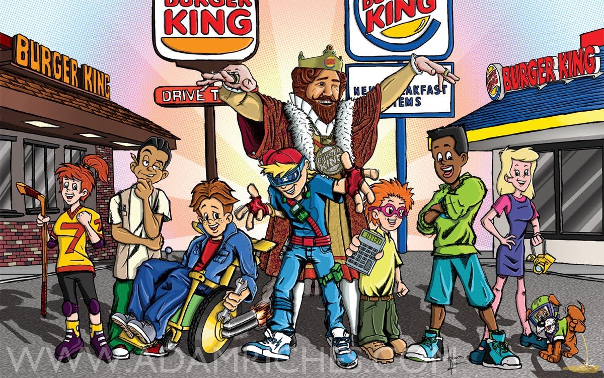 Burger King Kids Club