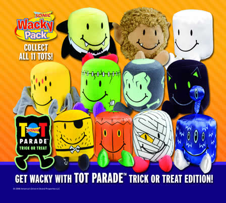 Sonic Tot Parade Trick Or Treat Sonic 2008 Kids Meal Wiki
