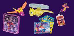 Wendy's spyro toys