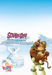 McDonalds 2011 Scooby Doo promo
