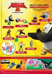 McD Malaysia Kung Fu Panda