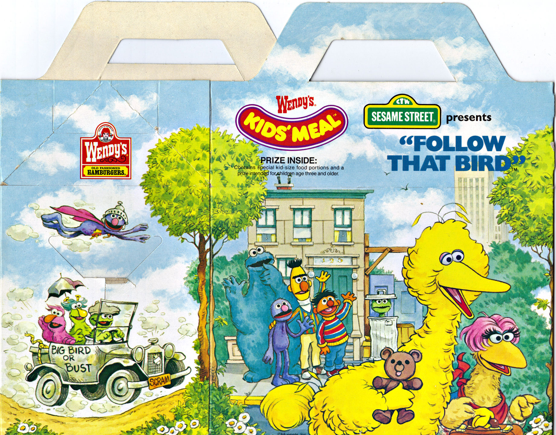 Sesame Street Presents Follow That Bird Now On Video Wendys