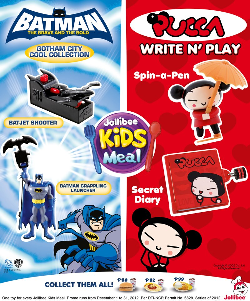Batman Brave And The Bold And Pucca Kids Meal Wiki Fandom