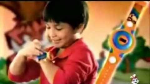 Kids Next Door Sonic Spinners (Jollibee, 2008)
