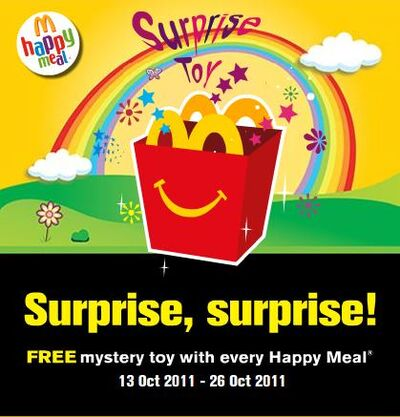 McD MY Surprise Toy 2011